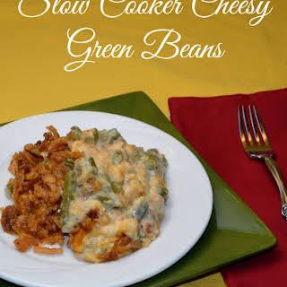 Crock-Pot Cheesy Green Beans-Recipe.