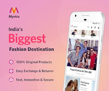 Myntra Online Shopping App Screenshot