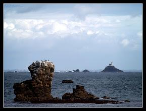 Photo: Tevennec à l'horizon