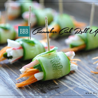 Cucumber Crab Roll Ups
