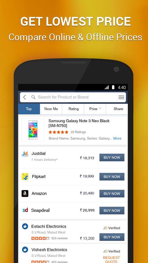 JD Justdial-Shop Online,Travel- screenshot