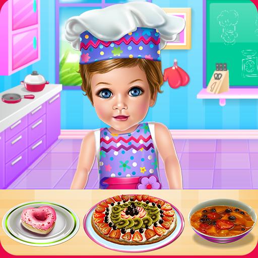 Baby Eva Cooking School