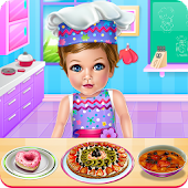 Baby Eva Cooking School