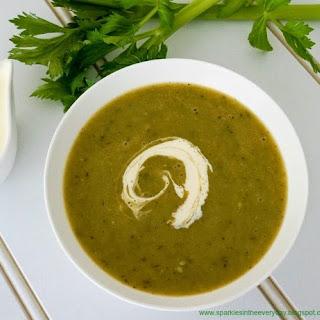 Creamy Broccoli and Zucchini Soup (GF)