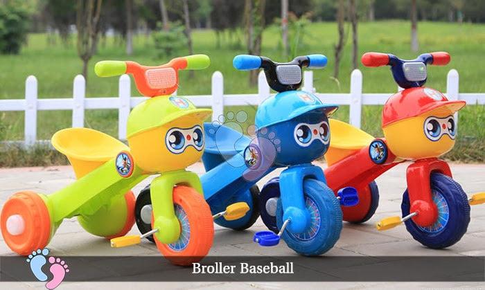 Xe đạp ba bánh trẻ em Broller XD3 Baseball 1