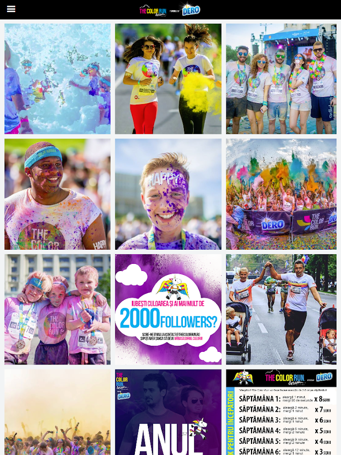 The Color Run- screenshot