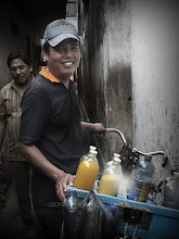 Photo: in Indonesia ジュースやさん