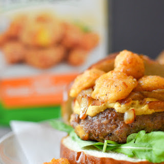 Wisconsin Brat & Cheese Curd Burger