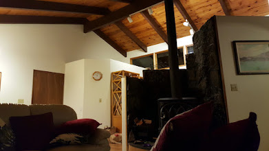 Photo: View from the couch.