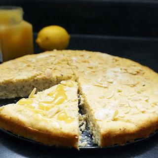 Lemon Lavender Almond Cake