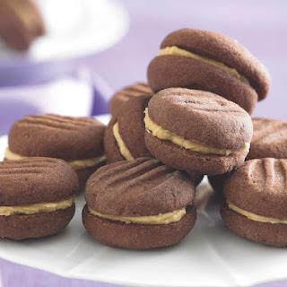 Mocha Melting Moments Cookies.