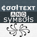 Cool text, symbols, letters, emojis, nicknames icon