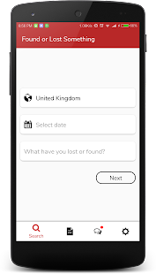 MissingX - Lost and Found App - náhled