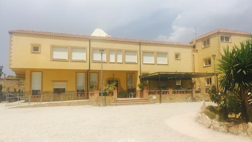 Imagen de la residencia de ancianos del municipio de Gérgal.
