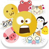 Big Emojis for Chat - Lovely emojis for Chat