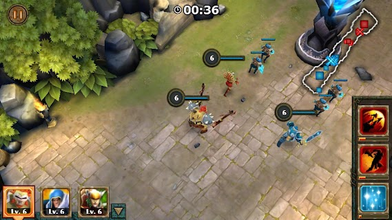 Legendary Heroes MOBA screenshot 03