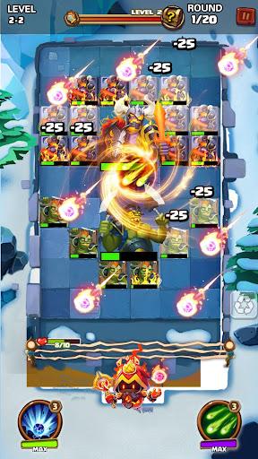 Hero War - Magic vs Monster Bounzy Brick Idle RPG apkdebit screenshots 4