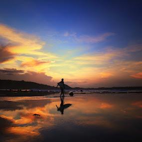 Sorake Beach  by Muhammad Buchari - Landscapes Sunsets & Sunrises (  )