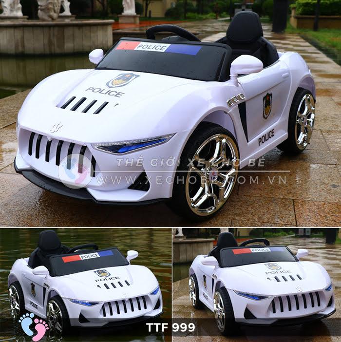 Ô tô điện đồ chơi trẻ em cao cấp TTF-999 17