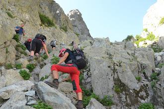 Photo: trošku jemného lezenia
