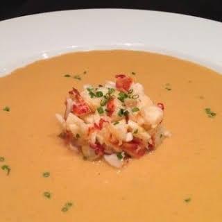 Healthy Lobster or Shrimp Bisque.