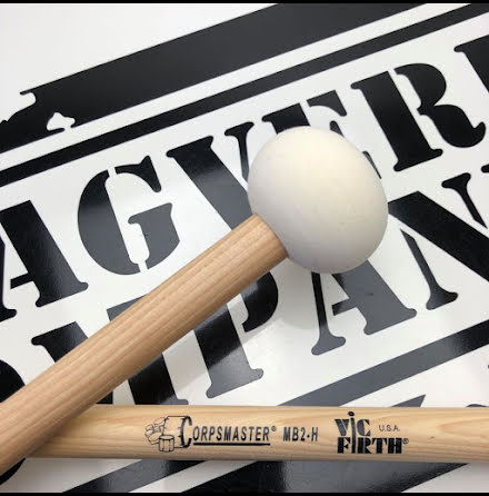 Vic Firth Corpsmaster - Marching Bass Mallets - MB2H
