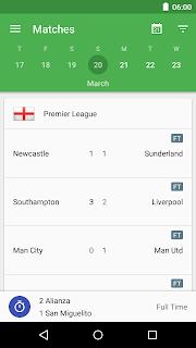 CrowdScores - Live Scores screenshot 00