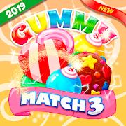 Gummy World Match 3 - \u2b50\u2764\ufe0f\ud83c\udf6c\ud83c\udf67\u2b50