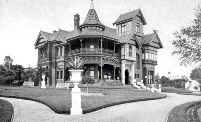 The Talana mansion sits on an acre at the beginning of Harcourt Street, just south of Barkers Road.