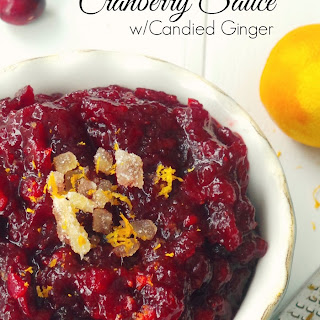 Cranberry Sauce With Dried Cranberries Recipes
