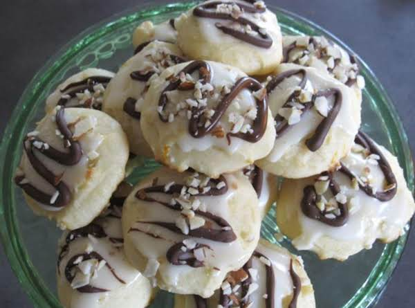 Ricotta Orange Cookies With Dark Chocolate & Hazelnuts Recipe