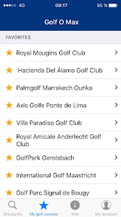 Golf O Max, up to 50% discount on your green fees- screenshot thumbnail