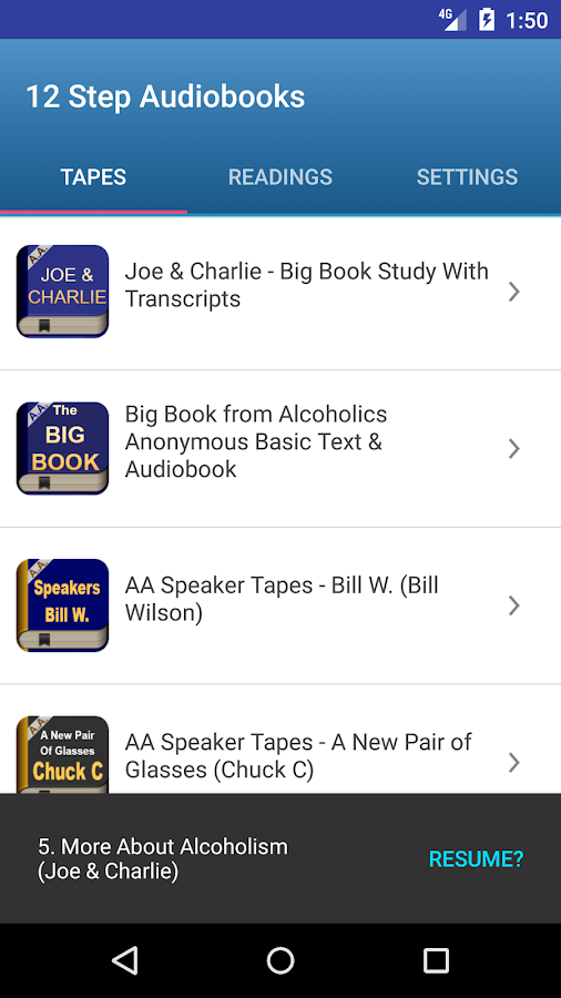 Joe Charlie AA Big Book Android Apps on Google Play – Joe and Charlie Big Book Study Worksheets