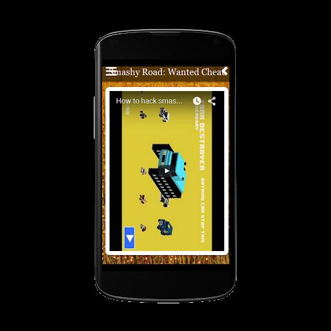 android Smashy Road Wanted Cheats Free Screenshot 3