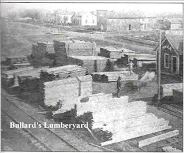"""Photo: From """"Sands of Time"""". Built @ 1871 by J. T. Bullard, was located where the Hicks/Amaco Gas Station was."""