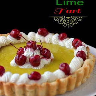 Cherry Lime Tart
