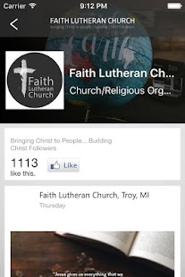 Faith Lutheran Church, Troy MI- screenshot thumbnail