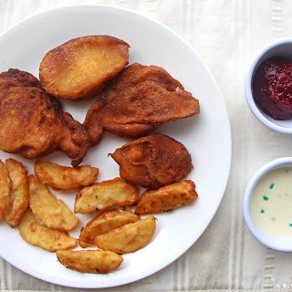 "Dessert ""Fish and Chips""."