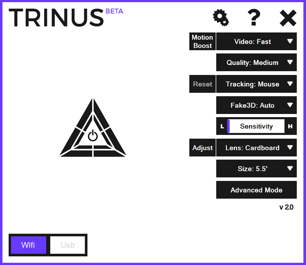 Trinus VR Lite- screenshot