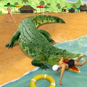 Swamp Crocodile Attack 2017