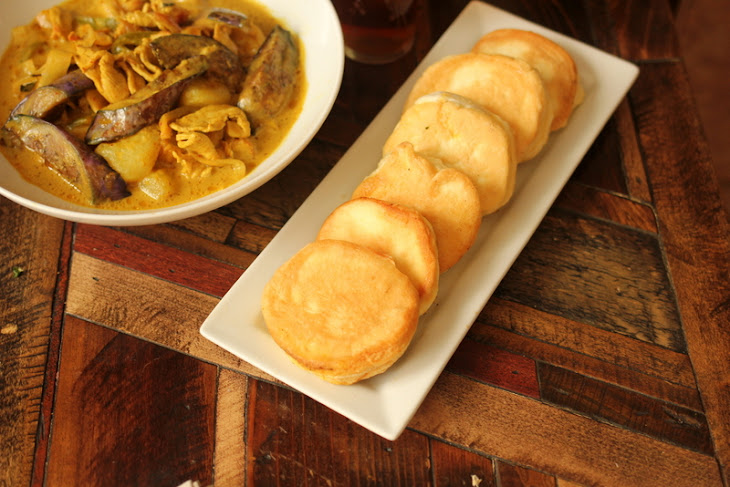 Coconut Chicken Curry and NAAN Bread! Recipe