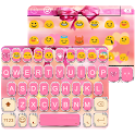 Pink Bowknot Keyboard Theme icon