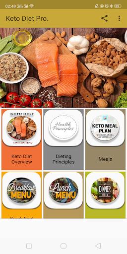 100 + Keto Diet Meals 1.0 screenshots 1