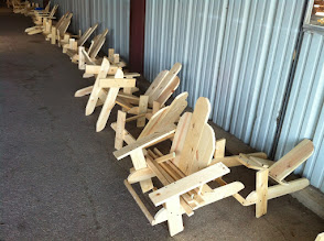 Photo: Chairs made by Webelos