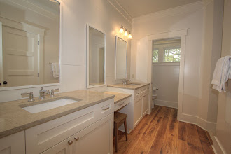 Photo: 2nd floor guest bath for bedroom with king bed and sitting area.