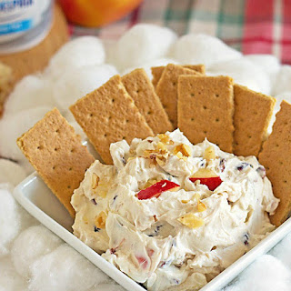 Cranberry Walnut Cinnamon Cream Cheese Dip