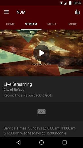 Noel Jones Ministries / C.O.R. screenshot