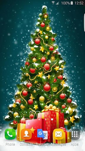 聖誕樹動畫壁紙