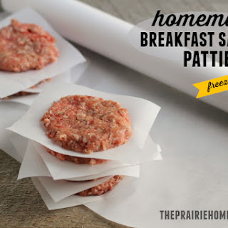 Savory Maple Breakfast Sausage- No Nitrates or MSG!.