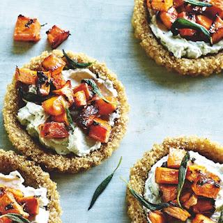 Quinoa Cheese Tartlets Recipe